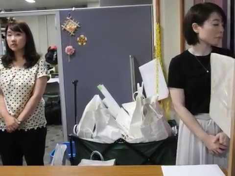 〔開票不正を許すな!〕「開票所の受付」に「投票所」から届けられる「白い紙袋の山」?? 「中身はナニ???」
