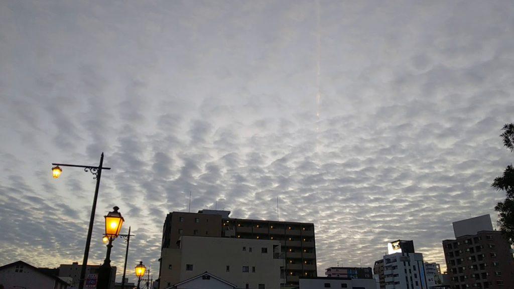 福岡ケムトレイル2020年1月10日こんな感じであちこち飛んでました。