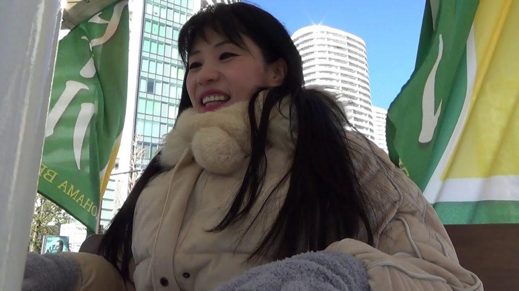 松田聖子「チェリーブロッサム」ビアバイクでピアノ弾き語り♪ 横浜ビール パーティバイク Cherry blossom Seiko Matsuda piano