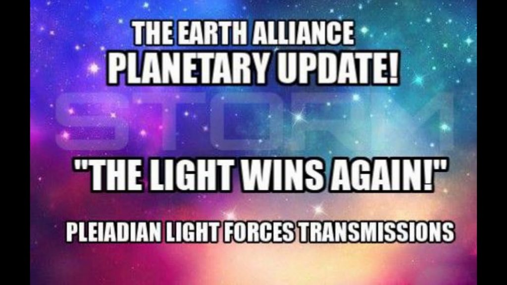 ** THE EVENT ~ EARTH ALLIANCE UPDATE **  THE LIGHT HAS WON AGAIN!!  Kin 203: Blue Galactic Night