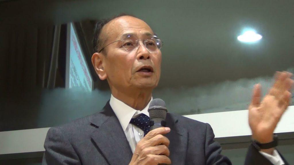 1-4 孫崎享さんの講演会(憲法9条と集団的自衛権は両立しない)