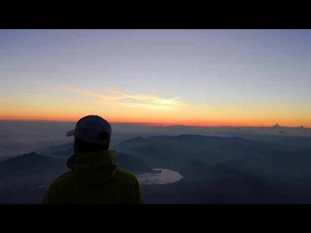 富士登山、ケムトレイル、夏の間海上で撒かれ関東全域を覆うとわかりました!