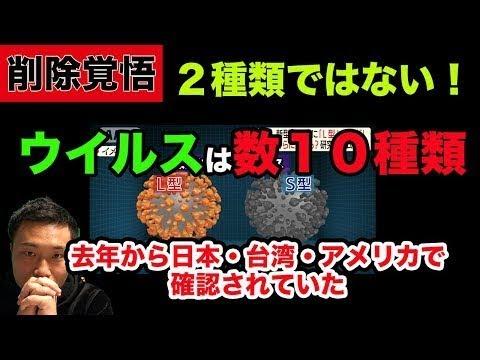 【真実考察】新型コロナウイルスが2種類?いや最新では多数の確認を発表!裏側を暴露!日本でのケムトレイルの散布の疑い・・・【都市伝説・陰謀】