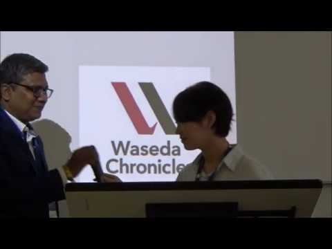 20190927【WASEDA CHRONICLE】 Mariko Tsuji 'Human Rights at Home'