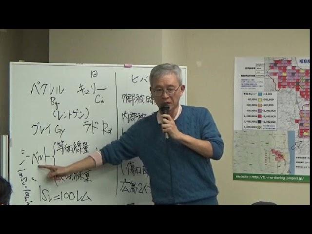 20181106 UPLAN 田中一郎「放射線被曝の評価単位=シーベルトへの疑問」