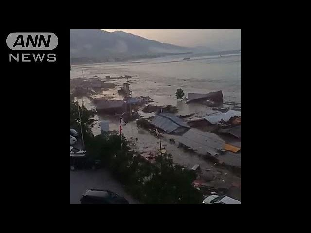 インドネシア・スラウェシ島 M7.5地震 津波観測(18/09/29)