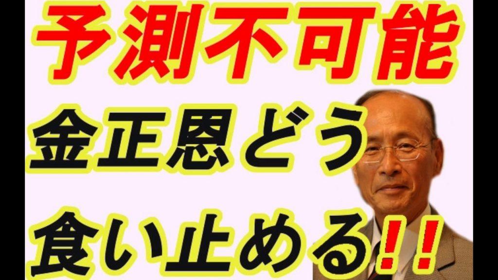 孫崎享【暴走がエスカレート世界はどう対処するべきか!!金正恩止められない!!】