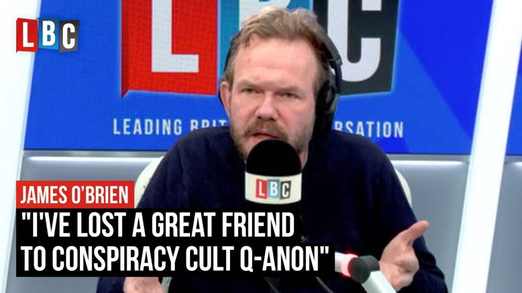 """""""I've lost a great friend to conspiracy cult Q-Anon"""" 