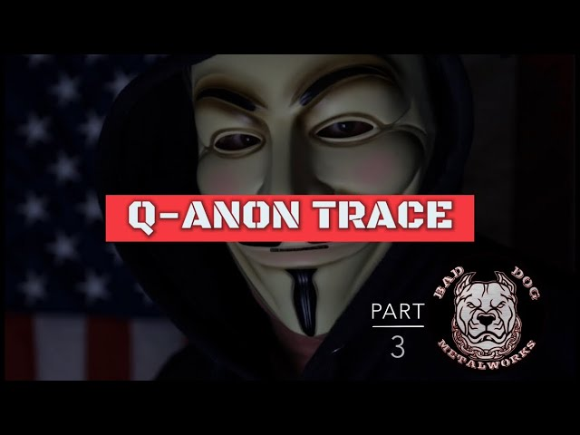 Q-Anon Trace (Part 3 of Using Stroke Width To Create A Globe In Inkscape)