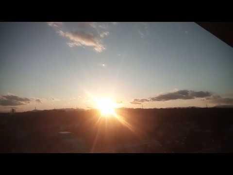 年末はケムトレイル休みか?美しい夕日と富士山 2018.12.29