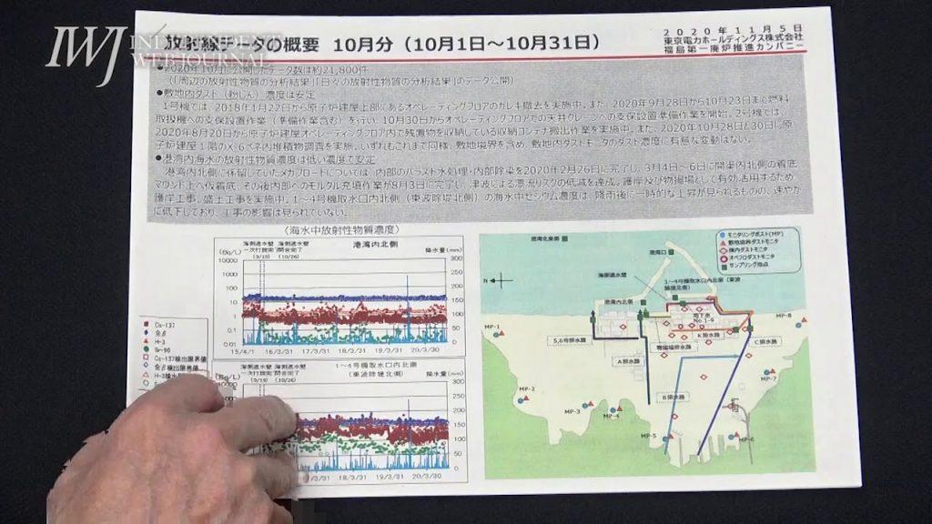 当事者が知らない!? 処理済汚染水の海洋放出決定を控え、IAEAが11月4日から福島第一原発近傍の海水や海底土、水産物の分析をするとの発表を、「情報を持ち合わせていない」~11.5東京電力 定例会見